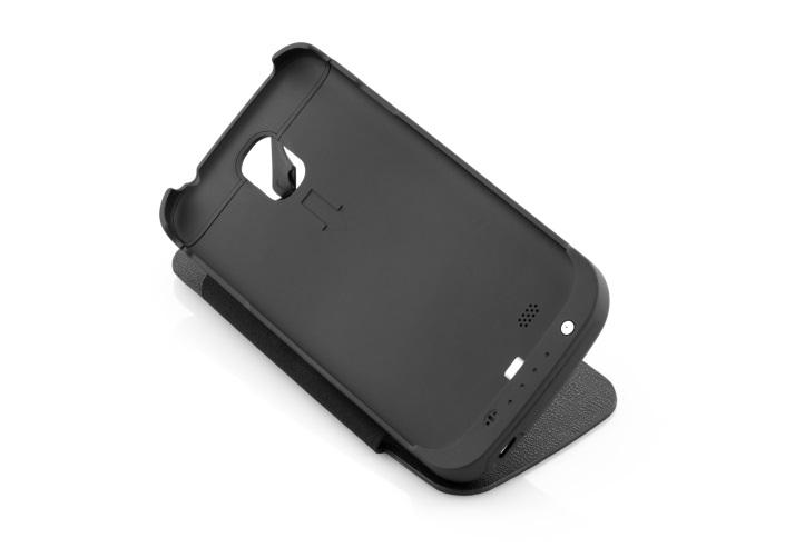 S4 Samsung S4 Compatible Rechargeable Mobile Case Black