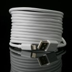 MFI Cable Coiled