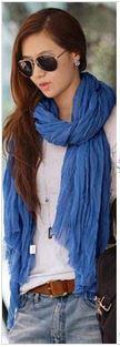 scarf – blue