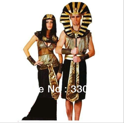 Halloween Costumer Egyptian Prince and Princess
