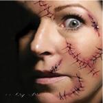 Halloween Stitches Tattoo