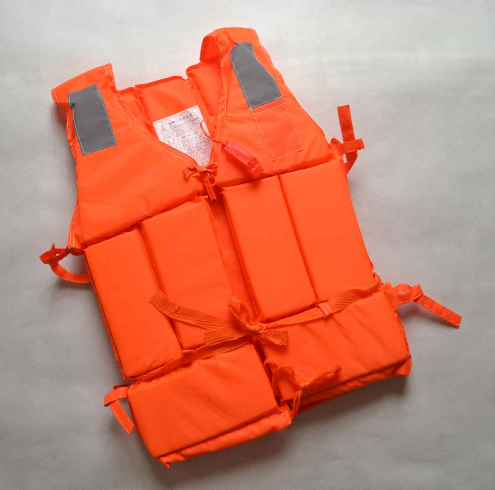 professional adult life jacket with whistle