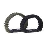 survival bracelet - both colors