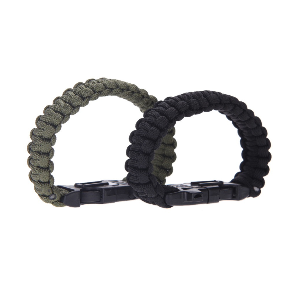 survival bracelet – both colors