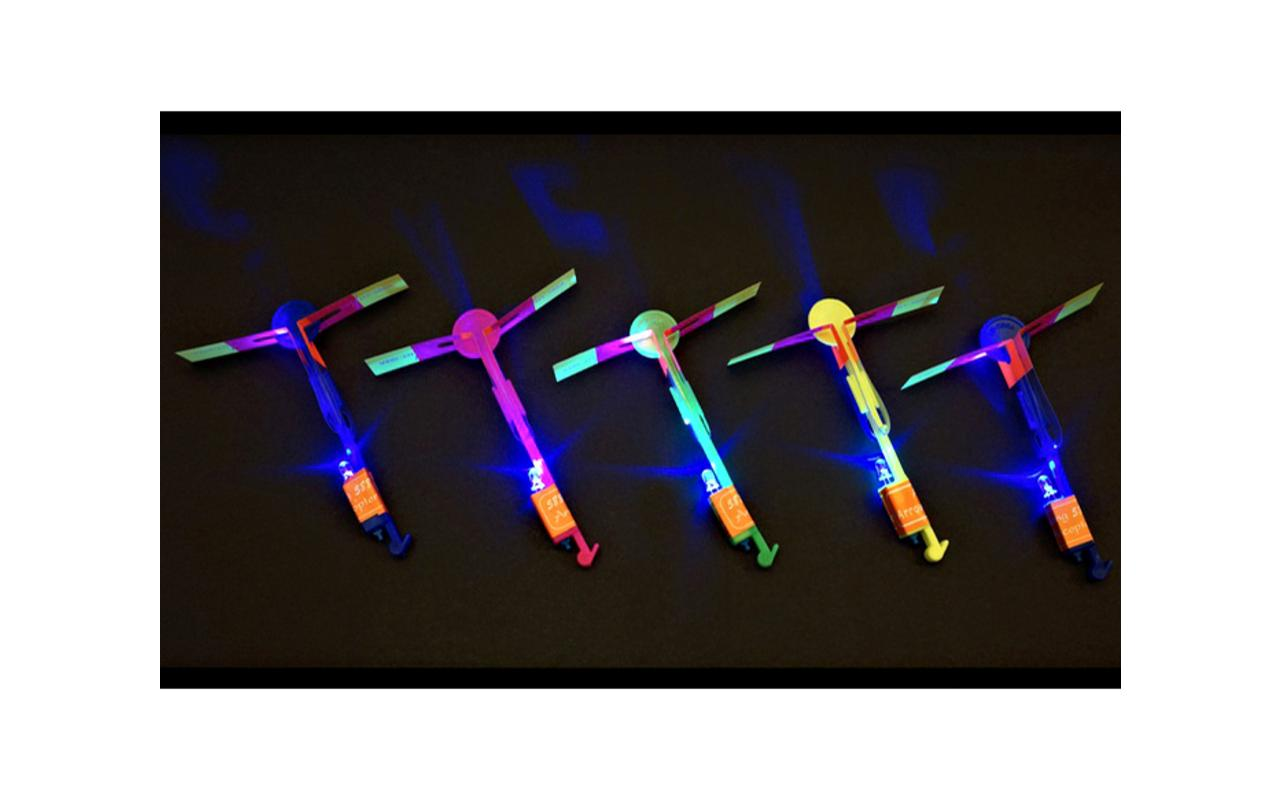 helicopter led shooter – lit up