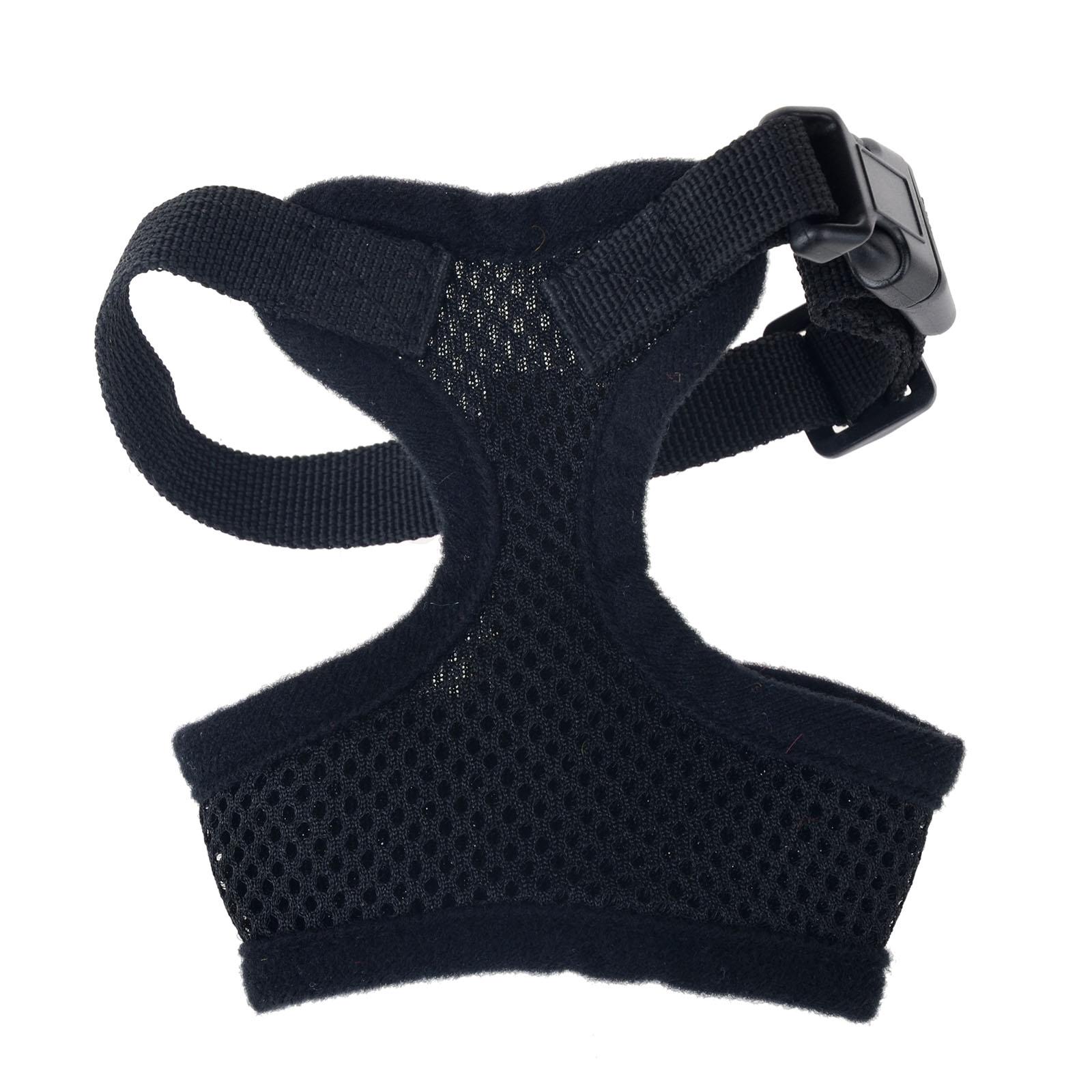 mesh harness – black