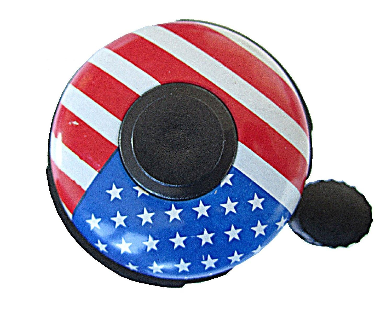 US Flag Bike Bell