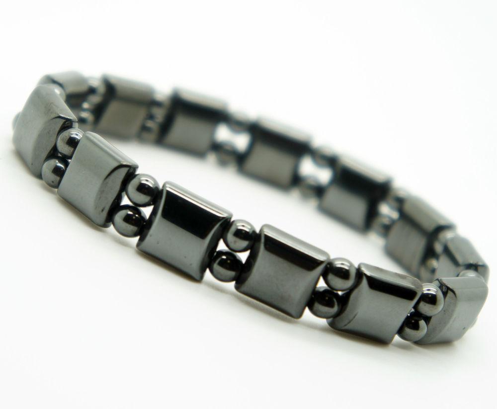 black hematite pain bracelet