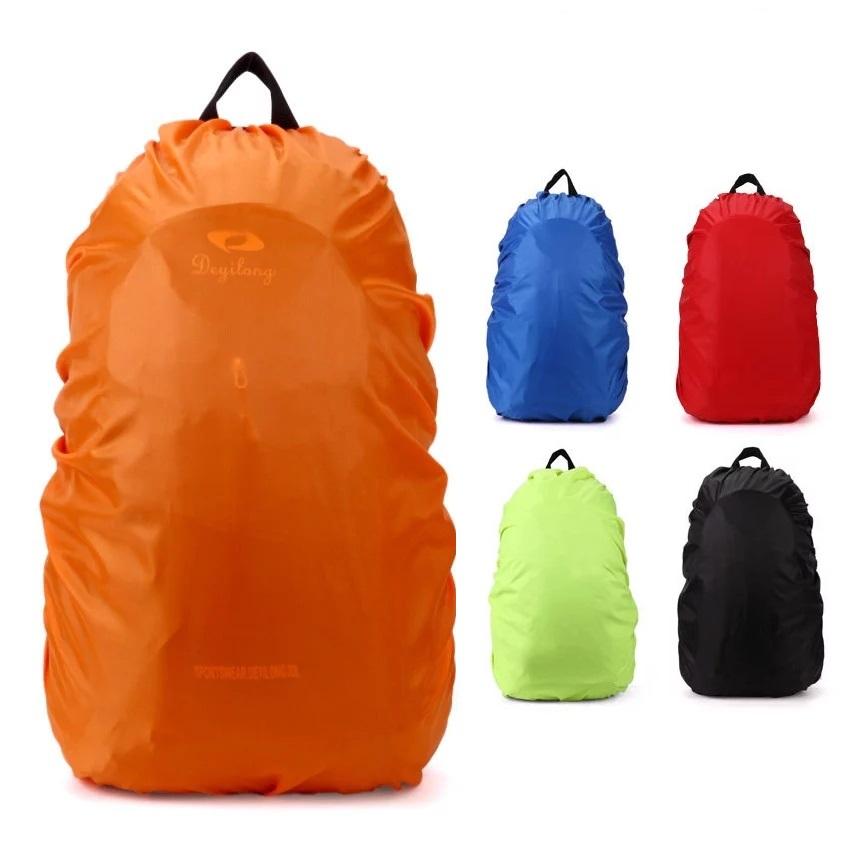 waterproof backpack cover – hero orange